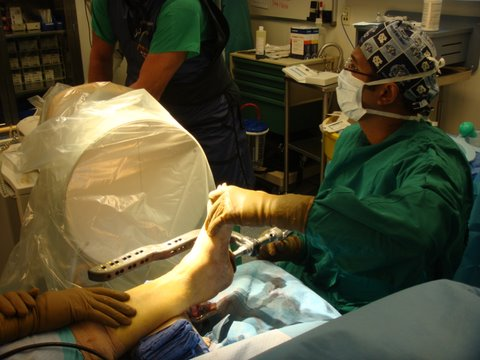 Parekh in surgery