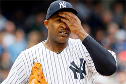 Sabathia could actually miss 8-12 weeks: Doc